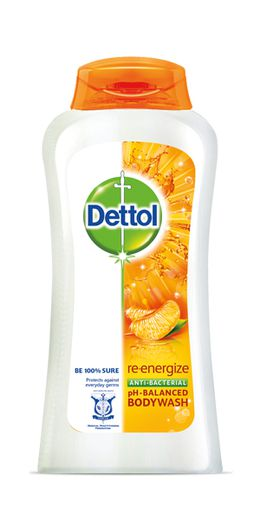 Dettol Re-Energize Antibacterial pH-Balanced Body Wash