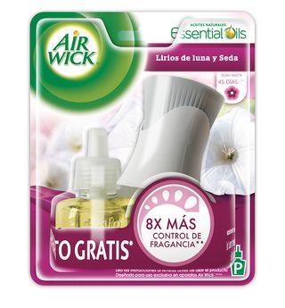 Air Wick ® Eléctrico Lirios de luna y Seda Aparato + Repuesto 21 ml