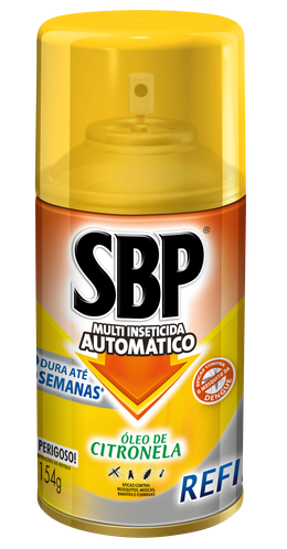 Automático Multi-Inseticida Refil Citronela 250ml