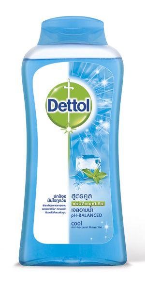 เดทตอล เจลอาบน้ำ แอนตี้แบคทีเรีย สูตรคูล