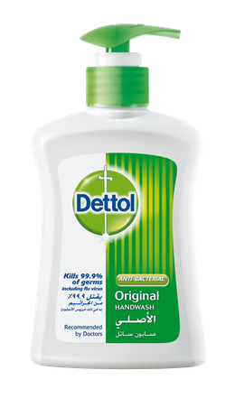 Dettol Liquid Hand Wash Soap Original 200ml