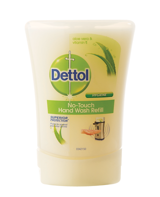 Dettol no touch handwash aloe vera