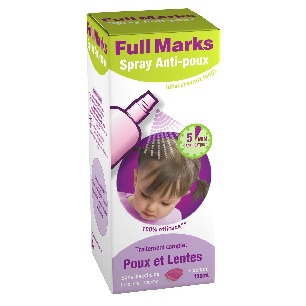 Full Marks lotion anti-poux