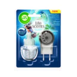 Elektrický osvežovac vzduchu - strojek & náplň: Tyrkysová  Laguna