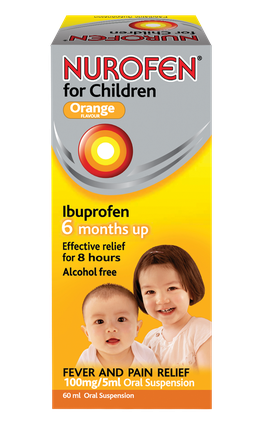 Nurofen Children 100mg/5ml Oral Suspension