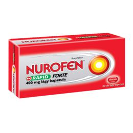 Nurofen Rapid Forte 400 mg lágy kapszula