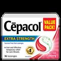 Cepacol Extra Strength - Sucrose Freey Cherry