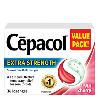 Cepacol Extra Strength - Sucrose Freey Cherry