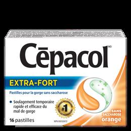 Cépacol EXTRA-FORT – sans saccharose orange