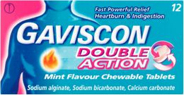 Gaviscon Double Action Tablets 12s