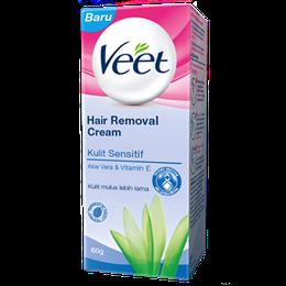 Veet® Krim Penghilang Bulu untuk Kulit Sensitif