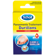 Scholl Pansements Coricides Durillons