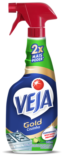 VEJA GOLD COZINHA DESENGORDURANTE LIMÃO PULVERIZADOR 500ML