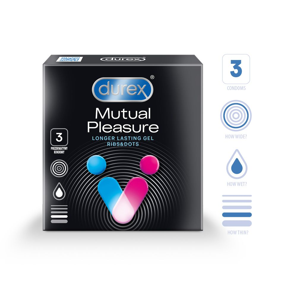 DUREX Mutual Pleasure N3