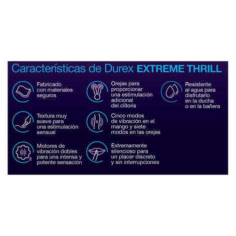 Vibrador Durex Extreme Thrill