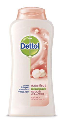 เดทตอล เจลอาบน้ำแอนตี้แบคทีเรีย สูตรเรเดียนซ์
