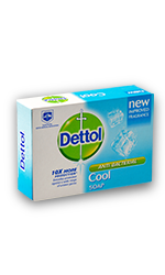 Dettol Antibacterial Cool Soap 90gm