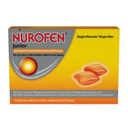 Nurofen Junior s pomarančovou príchuťou 100 mg