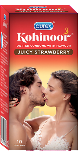 Durex Kohinoor - Juicy Strawberry