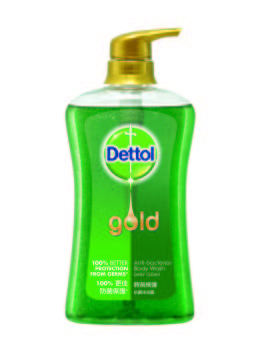 Dettol Anti-bacterial Body Wash Gold Daily Clean 625g