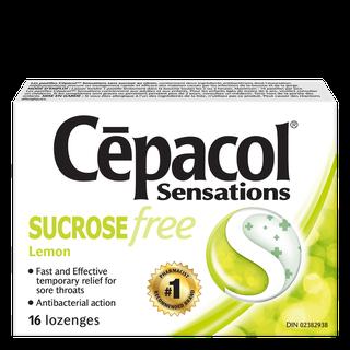 Cepacol Sensations -Sucrose Free Lemon