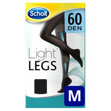 Medias de compresión ligera Scholl Light Legs 60 DEN color negro M