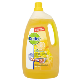 Dettol Power & Fresh Citrus Liquid 4L