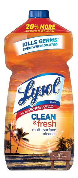 Lysol® Clean & Fresh Multi-Surface Cleaner - Clean & Fresh Hawaii