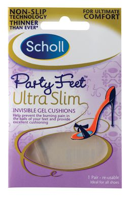 Scholl Party Feet ultra vékony gél talpbetét 1 pár