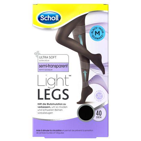 Scholl Light Legs™ Strumpfhose mit Kompressionsfunktion 40 DEN Schwarz M