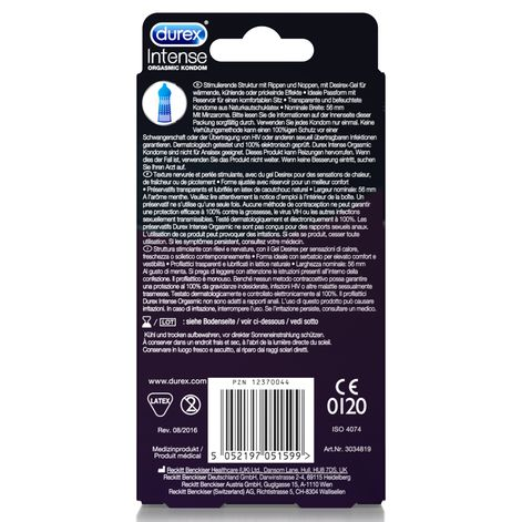 Durex Intense Orgasmic, 10 Kondome