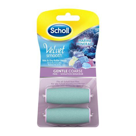 Scholl Velvet Smooth™ Nachfüller Wet&Dry - Fein mit Meeresmineralien