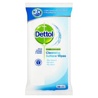 Dettol  Surface Cleanser Wipes 36s