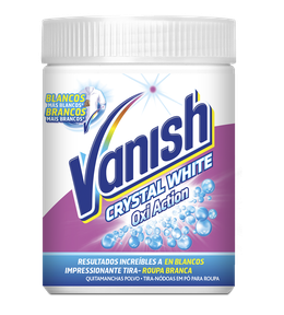 Vanish Oxi Action Crystal White Pó