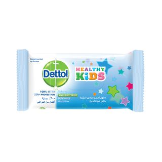 Dettol Skin Wipes Healthy Kids Prince 10s