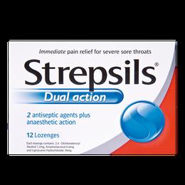 Strepsils 使立消雙重效能喉糖