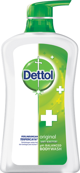 Sabun Cair Anti Bakteri Dettol Original (450ml)