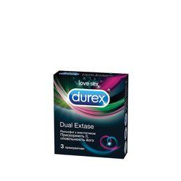 Презервативи Durex® Dual Extase