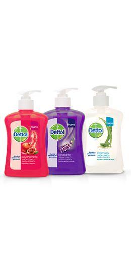 Dettol jabón líquido antibacterial* toque saludable