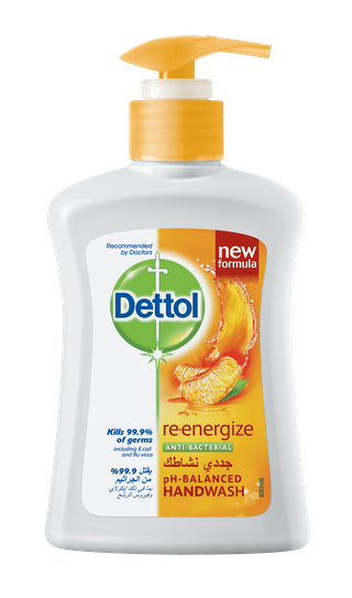 Dettol Liquid Hand Wash Soap Re Energize 400ml