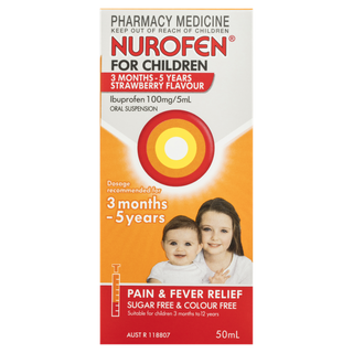 Nurofen for Children 3m-5y Strawberry