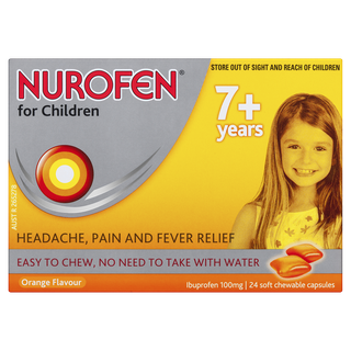 Nurofen for Childeren Soft Chewable Capsules