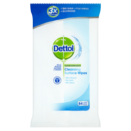 Dettol Antibacterial Cleansing Surface Wipes - Original - 84s