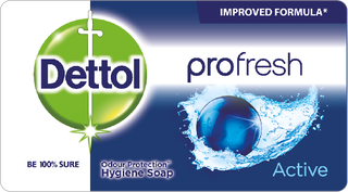 Dettol Soap Profresh Active