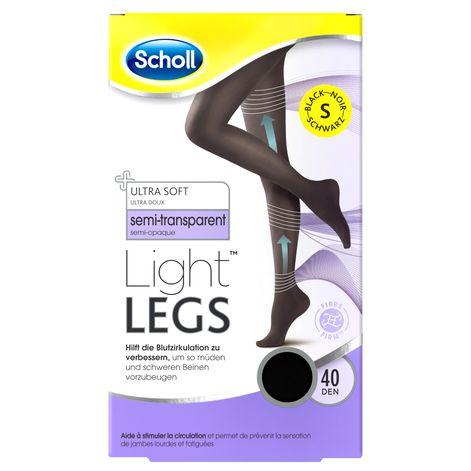 Scholl Light Legs™ Strumpfhose mit Kompressionsfunktion 40 DEN Schwarz S