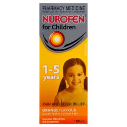 Nurofen For Children 1-5 Years Orange