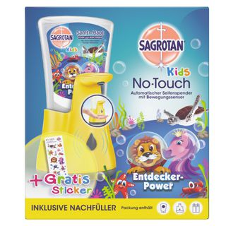 Sagrotan Kids No-Touch Automatische Box mit Sticker