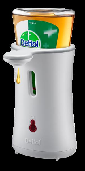 Dettol Anti Bakteri No-Touch Handwash System  (Starter Kit Original)