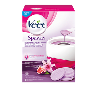 Veet Spawax Elektrisches Warmwachs-Set