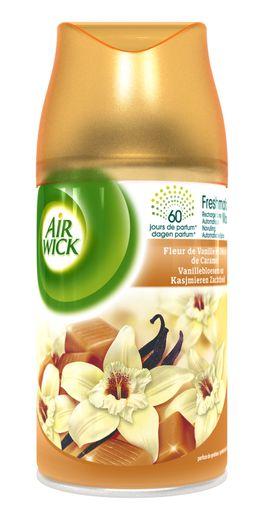 AirWick Recharge Freshmatic Max Fleur de Vanille et Délice de Caramel ¹